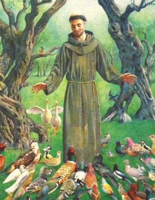 Blessing of the Animals – Feast of St. Francis