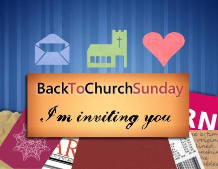 Back to Church Sunday 2014