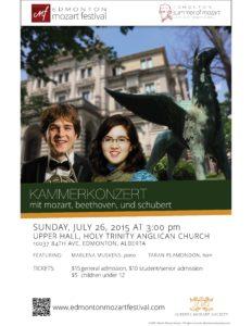 July 26 Concert
