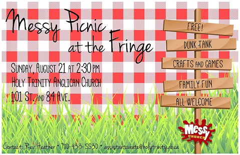 Messy Picnic at the Fringe