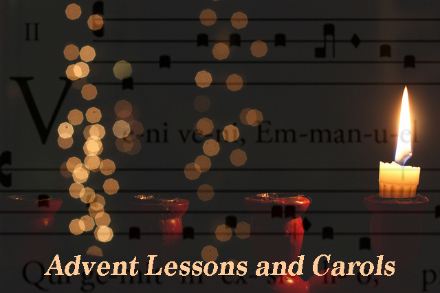 Advent Lessons and Carols Service, December 3